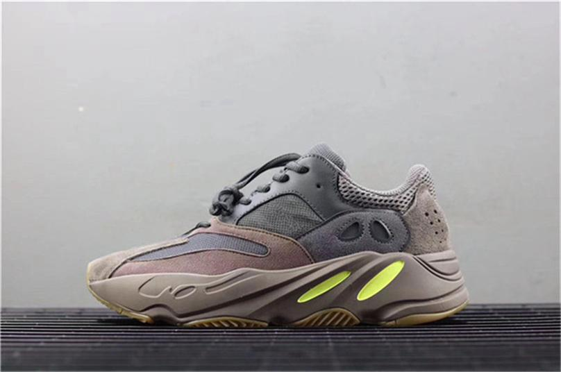 c043df81a9fff 2019 2018 Best 700 Kanye West Mauve Wave Runner Purple 3M Sports EE9614  Sneakers 700 V2 Static Outdoor Shoes Authentic Version With Box From  Feelsky