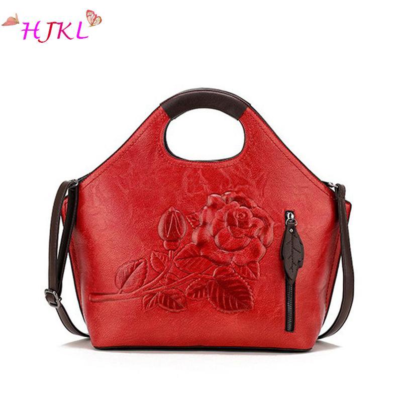 Luxury Women Handbags Rose Flower For Women 2018 Designer Leather Messenger  Bag Fashion Ladies Shoulder Bag Brand Big Totes Sac School Bags Messenger  Bags ...