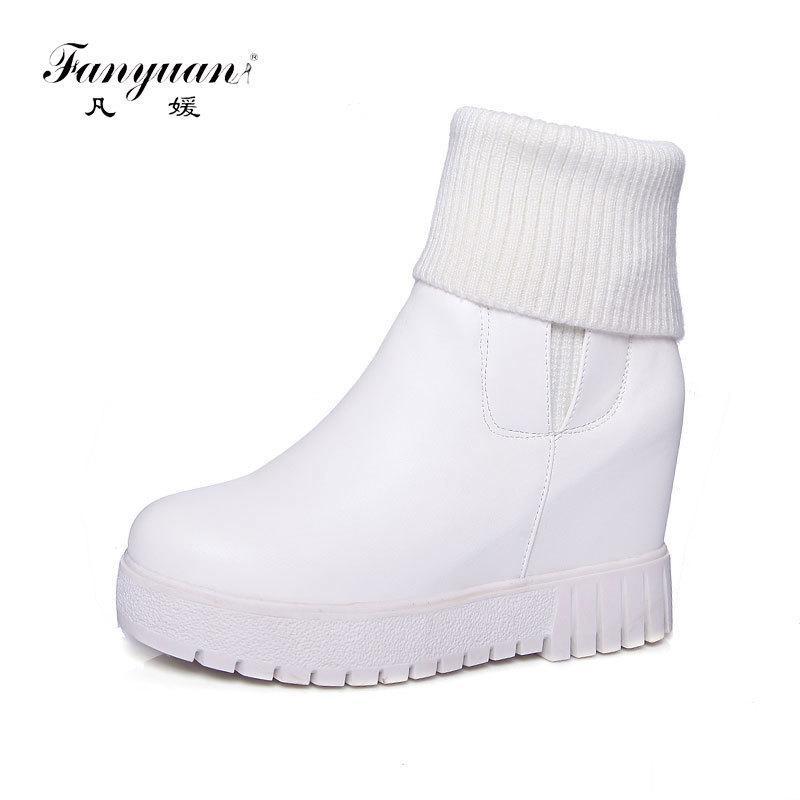 Compre Fanyuan, Botines De Mujer, Zapatos De Invierno Para Mujer ...