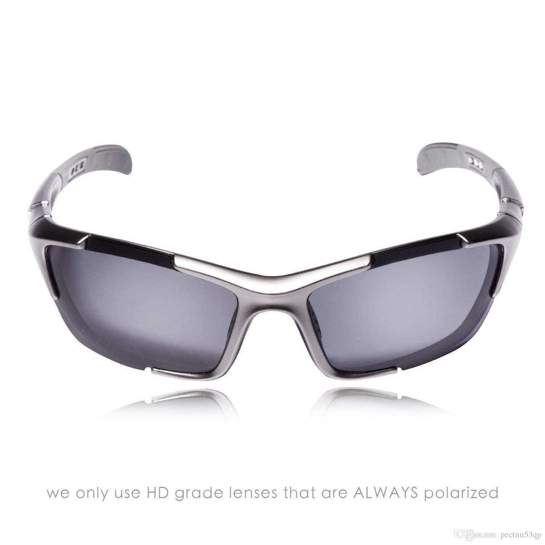 79066ea30c Sport Polarized Sunglasses FDA Approved Matte Black Smoke Sunglasses For  Men Women Mens Womens Running Golf Sports Sun Glasses Eyewear From  Pectnu53qp
