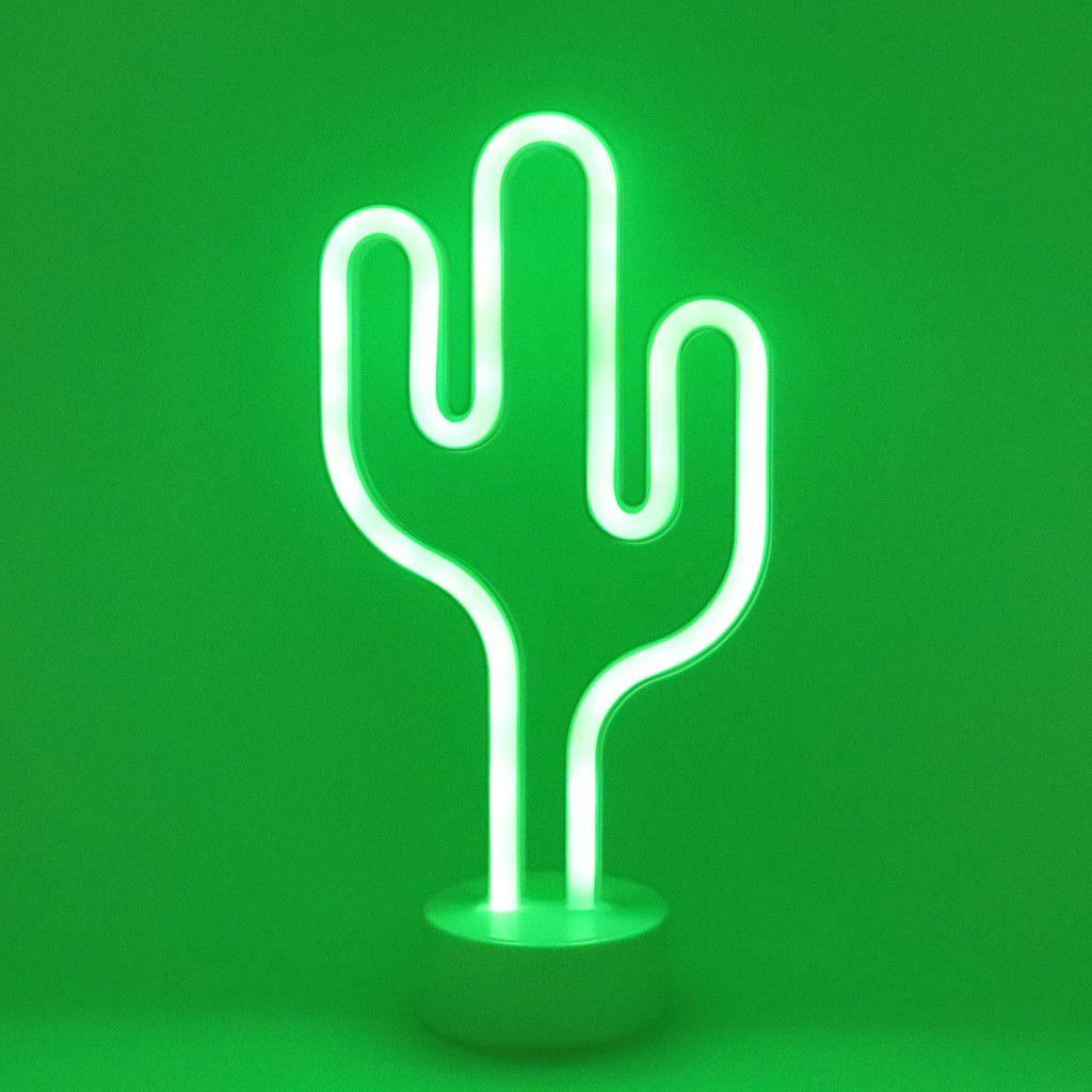 2019 Lamp Cactus Coconut Tree Animal Led Tube Neon Sign Light Home