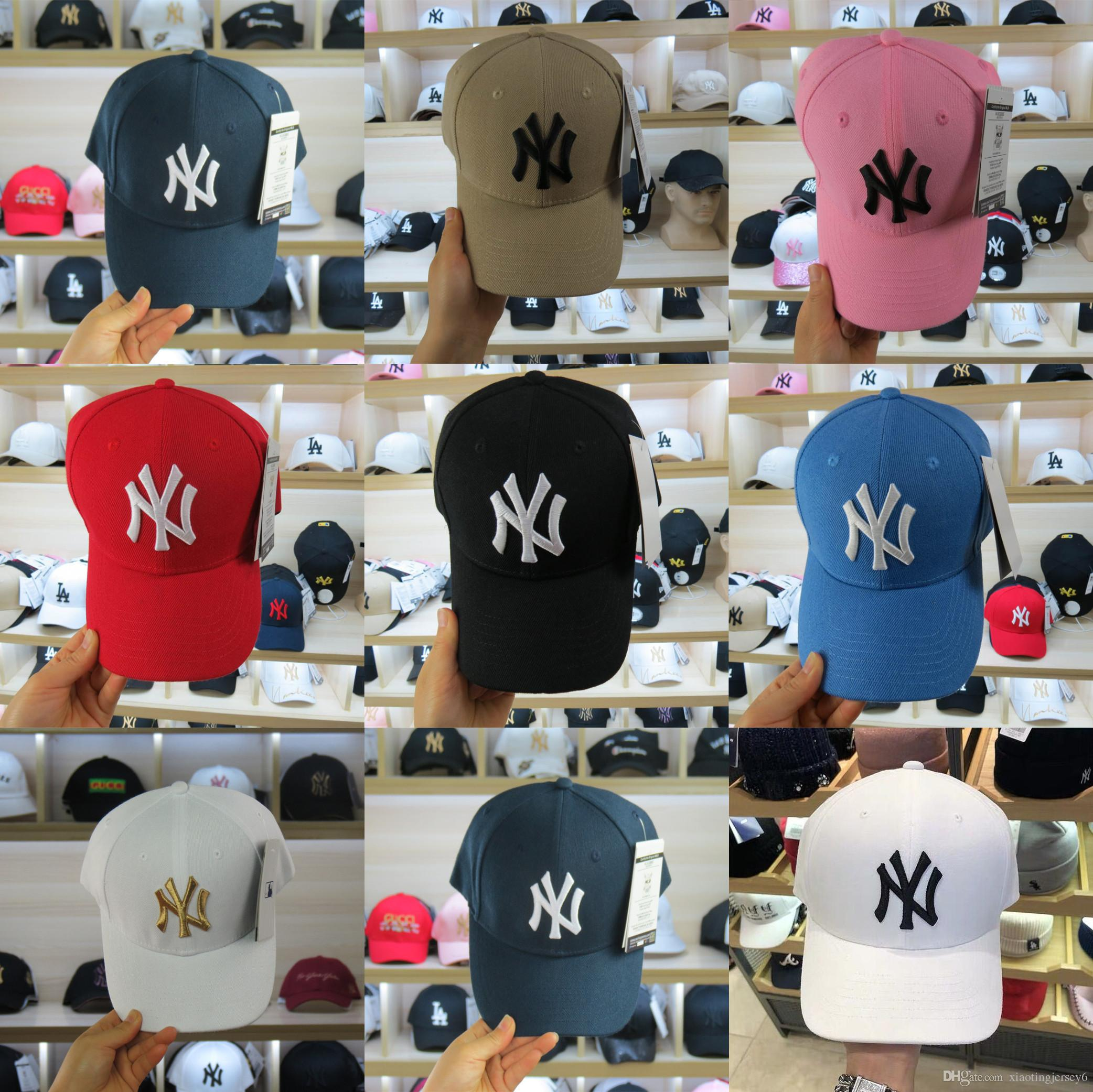 2019 best quality Snapback Cap New York Adjustable Yankees Baseball Hats  High Quality NY Sport cap men women dad hat