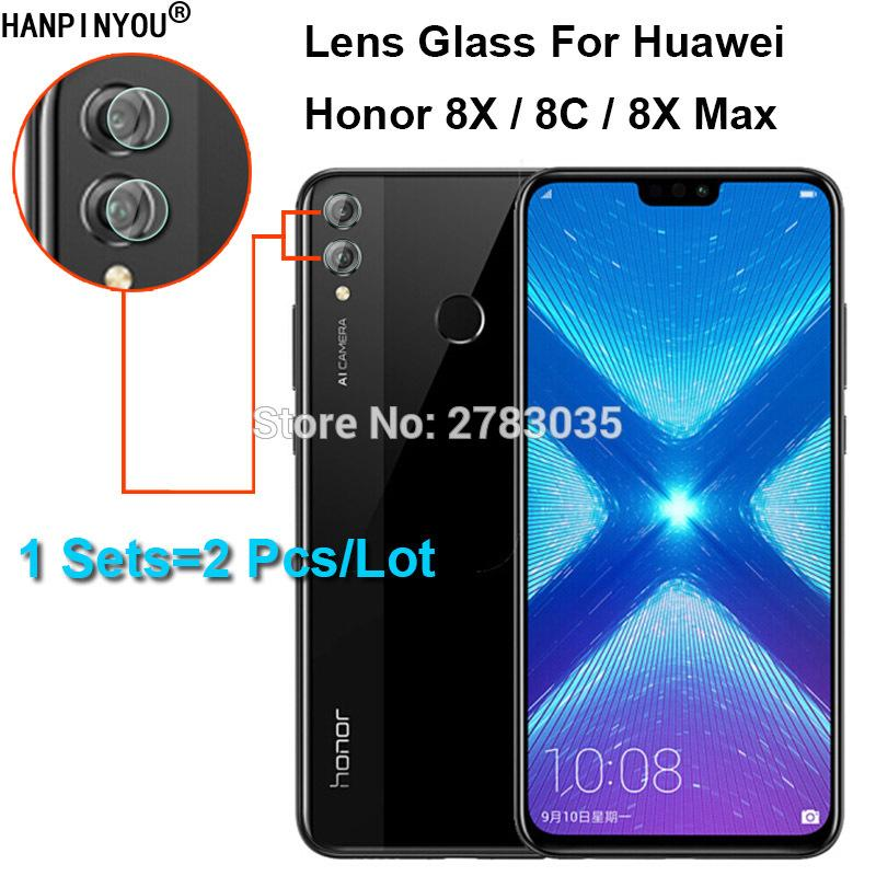 For Huawei Honor 8X / 8C / 8X Max Clear Ultra Slim Back Camera Lens  Protector Rear Lens Cover Tempered Glass Film