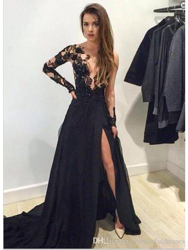 Vestidos De Noche Sexis Y Elegantes Largos Vestidos