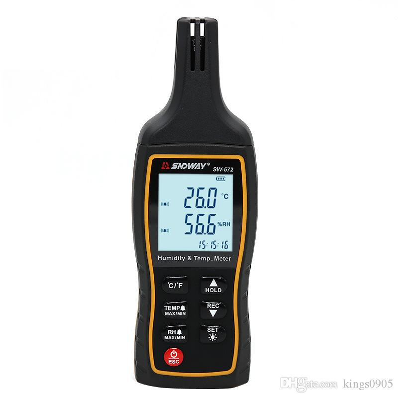 SW572 Handheld Portable high precision Digital Air Temperature Humidity Meter Thermometer Hygrometer Gauge Tester