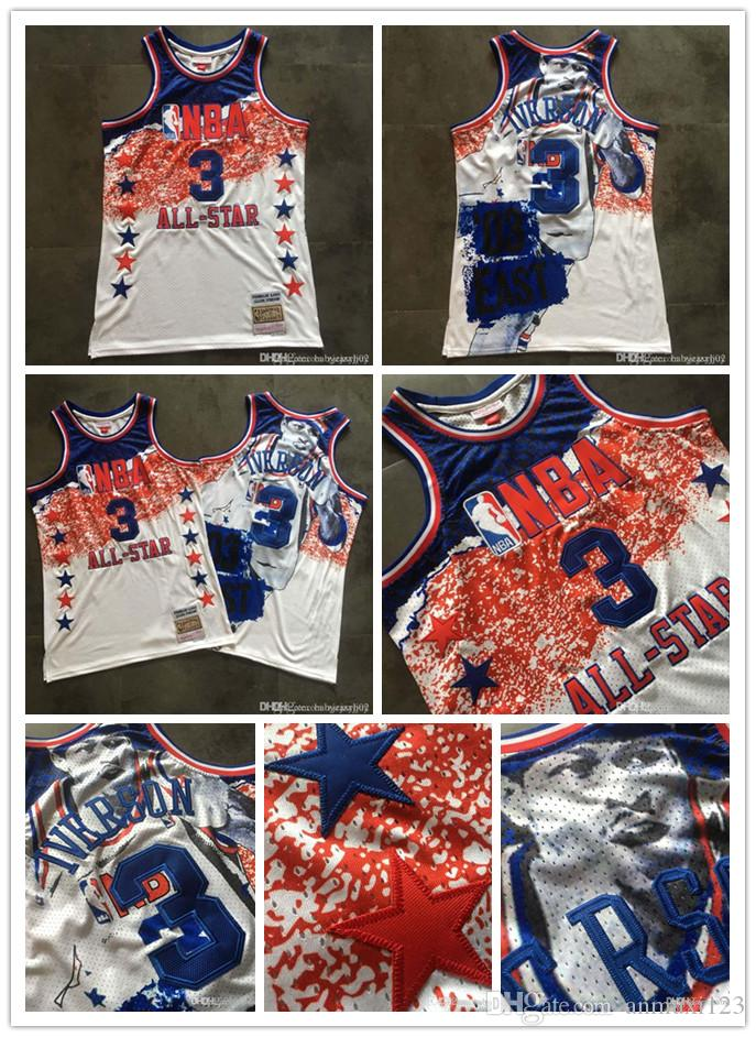 bf05504351f0 2019 All 03 Star Commemorative 76ers 03 Iverson Mitchell Ness All 03 Star  From Zsyandsan