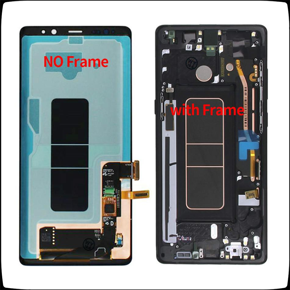 6.3'For Samsung Galaxy Note8 LCD Touch Screen Assembly digitador para Samsung Nota 8 N950 N950FD N950U / U1 N950W N9500 ​​grátis DHL