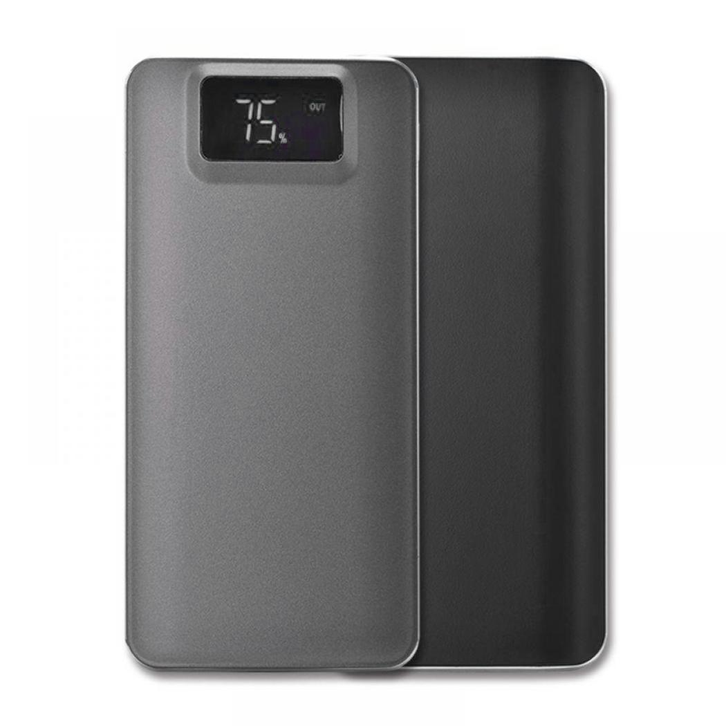 Portable Mobile Power Bank 10000 mAh LCD Digital Dual USB Battery Charger Compact External Battery Bank Universal Powerbank