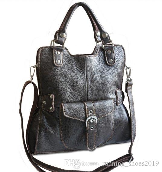 068ce0e51ee3 New 2015 Luxury Genuine Leather Women messenger bags Leather shoulder bag  female Crossbody bag for women Handbag Tote Casual Bag  33583