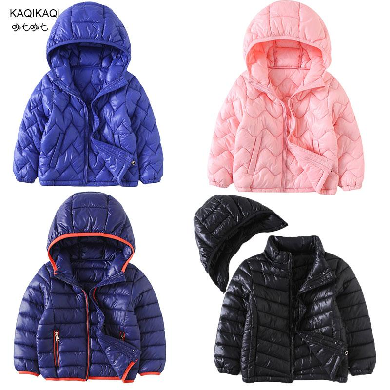 ea192d339bbb 2018 New Child Cotton-padded Jacket Boys Girl Parkas Kids Warm Coat Kids  Winter Down Cotton Jackets Children s Winter Clothing Down   Parkas Cheap  Down ...