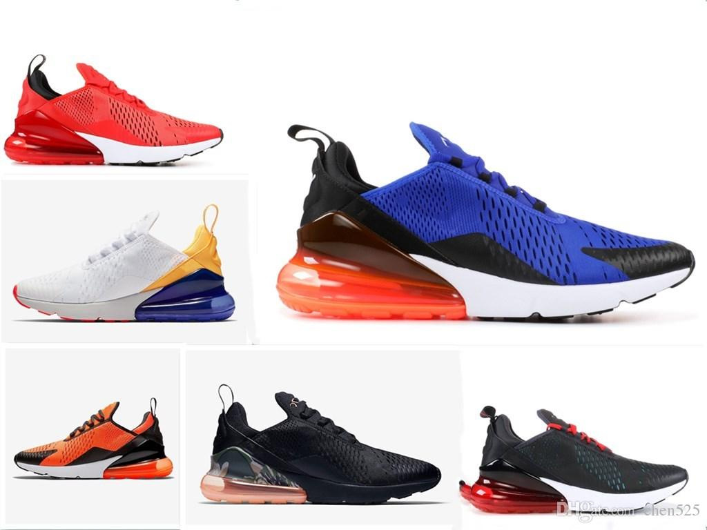 White University Red 270 Mens Tiffany Vibes Running Shoes 270s Olive Volt  Habanero Red Black White Total Orange Sports Sneakers Best Shoes For Running  ... 95c548ad5a19