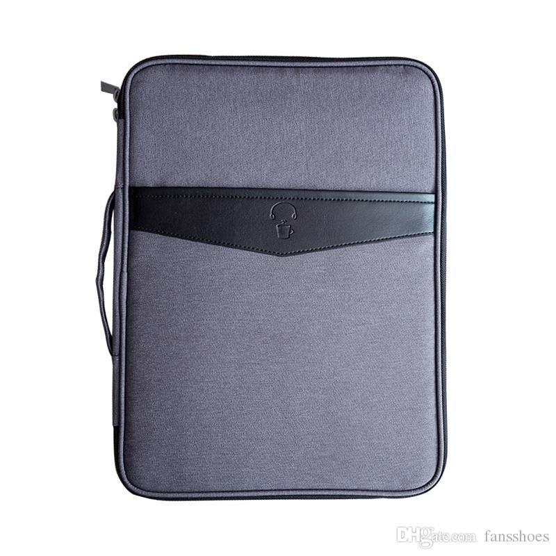 cc91aefe95 Acquista Cartelle Multifunzionali A4 Borse Da Viaggio Portatili Portatili  Da Uomo Borse Da Viaggio Notebook Custodia Da Viaggio Passaporto Accessori  ...