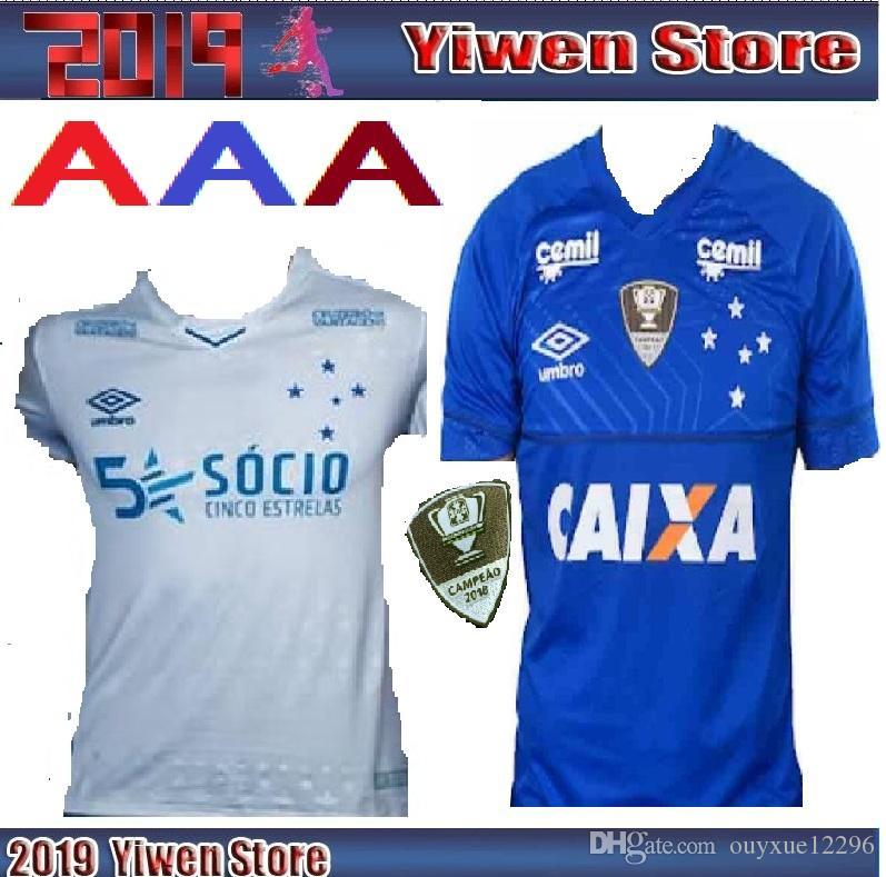 Compre 2019 2020 Camisa De Futebol CRUZEIRO 19 20 DE ARRASCAETA FRED  ROBINHO THIAGO NEVES Camisa De Futebol Cruzeiro Home Clube Brasileiro  Camisas De ... 0cc5d60c82f4e