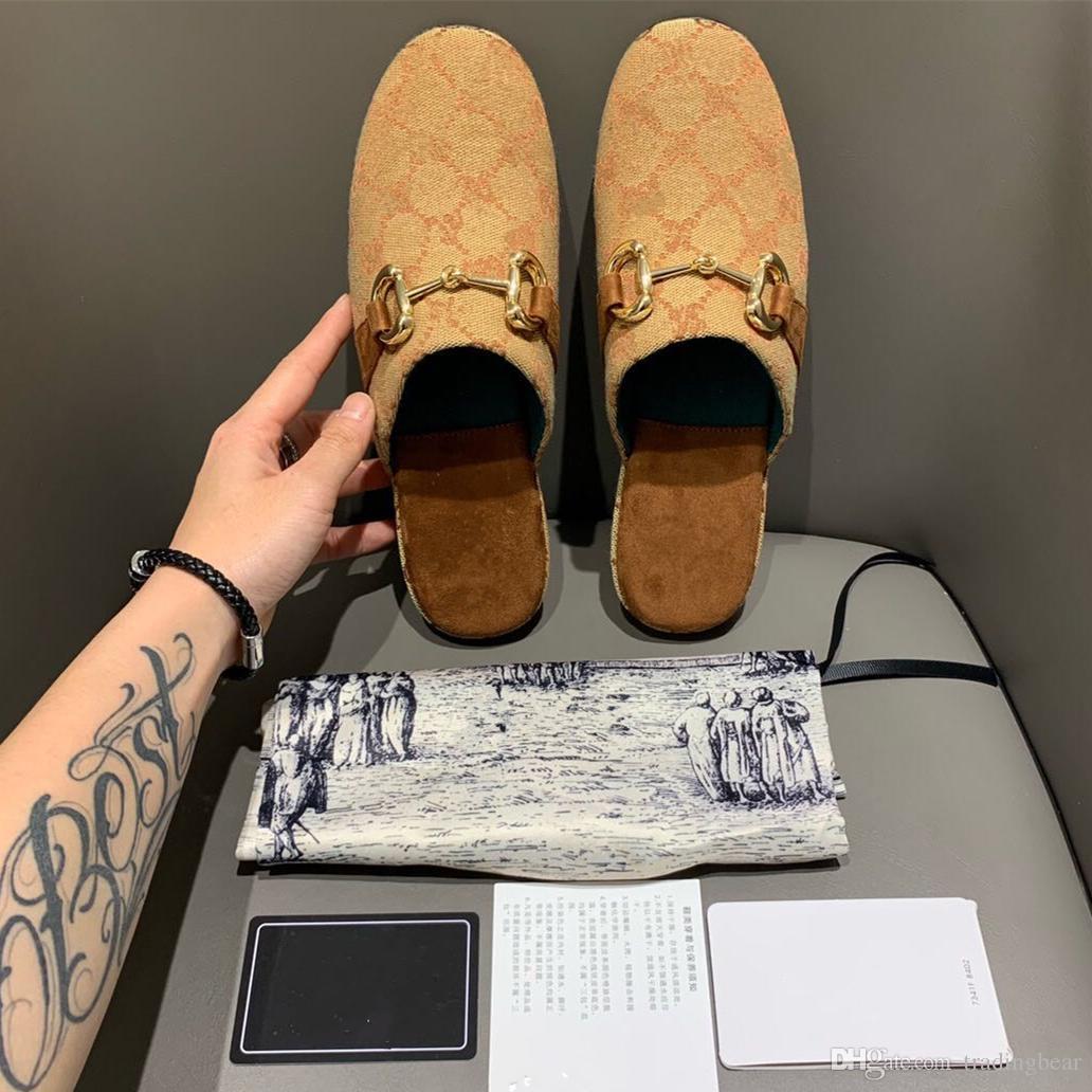 2020 luxe des femmes de mules en cuir véritable jaune Princesstown talons plats mode italienne chaussures de marque de luxe de taille 35 à 40 tradingbear