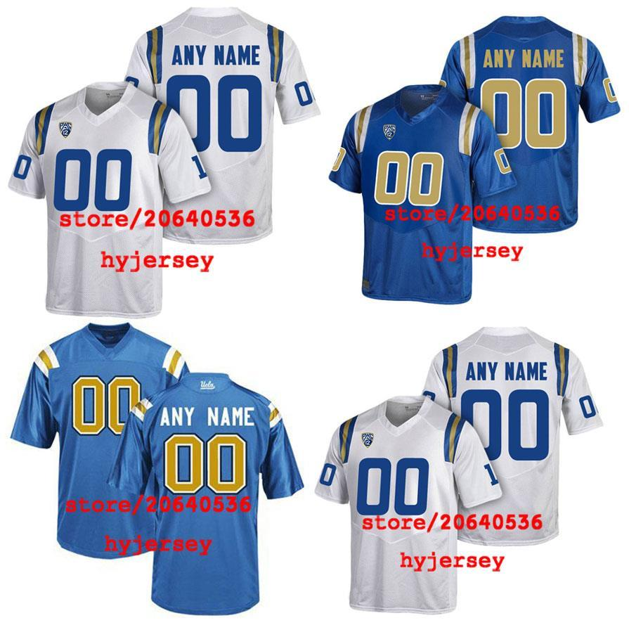 2019 Cheap Custom UCLA BRUINS College Jersey Mens Women Youth Kids  Personalized Any Number Of Any Name Stitched White Blue Football Jerseys  From ... 7ef77230f