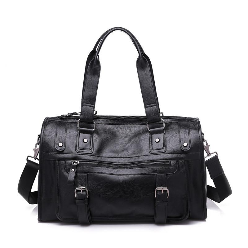 Travel handbag PU Short-distance Travel Bag Portable Capacity Business Portable Bag packing cubes luggage organize