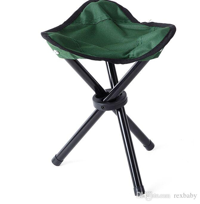 Camping Folding Portable Chair Outdoor Waterproof Foldable Aluminum Alloy Tube For Fishing Beach Hiking Picnic
