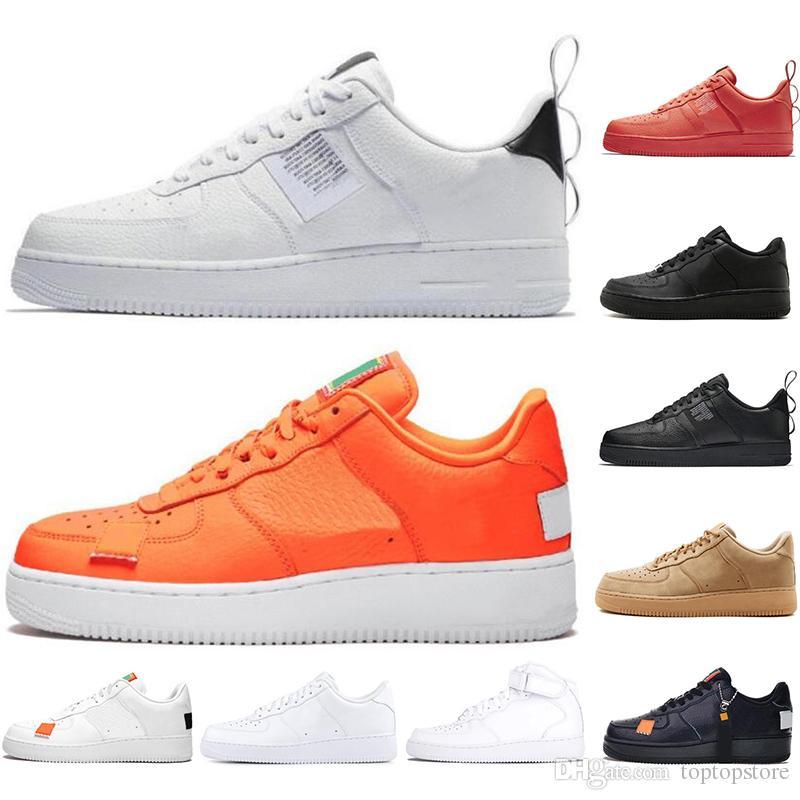 Nike Air Force Orange 45