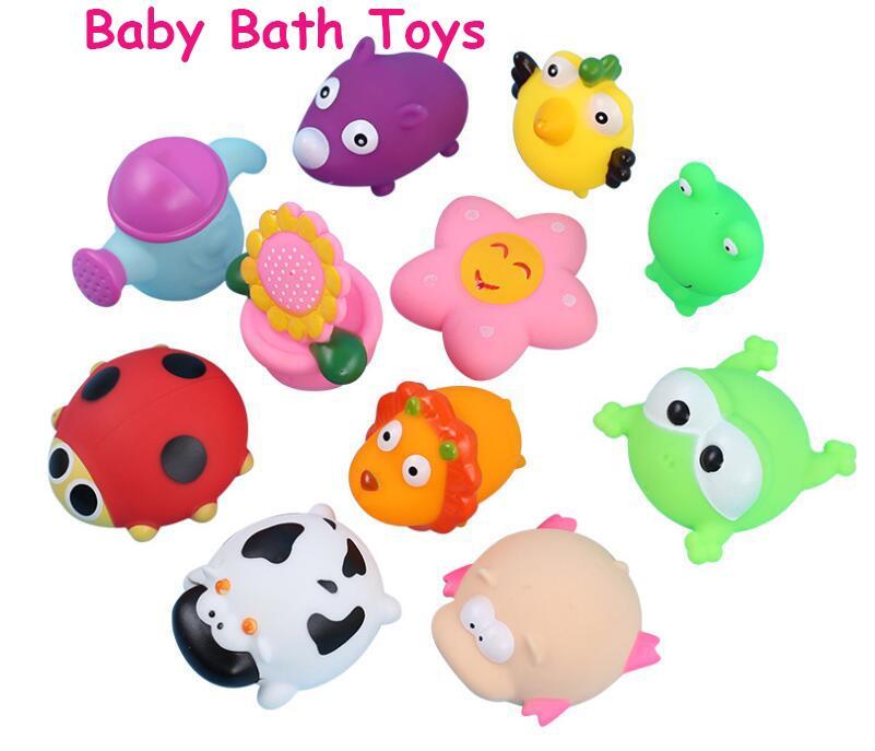 Compre Animales Juguetes De Baño Para Bebés Para Niños Pequeños