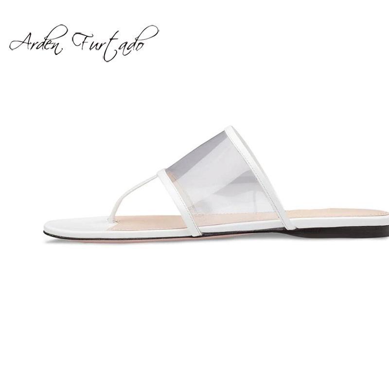 d4566e364d Compre Verão 2019 Sandálias Da Moda Flip Flops Chinelos Elegantes Tamanho  Grande Consice Banda Estreita Chinelos De Desgaste Sobre Apartamentos De  Serendip