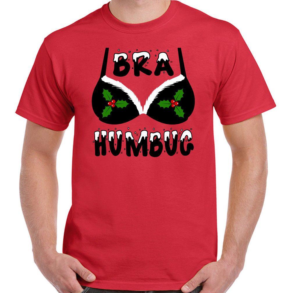56ec16ca Bra Humbug Mens Funny Christmas T Shirt Ideal Secret Santa Gift Stocking  Filler Size Discout Hot New Tshirt Top T Shirt Online Tees Tee Shirts  Design From ...