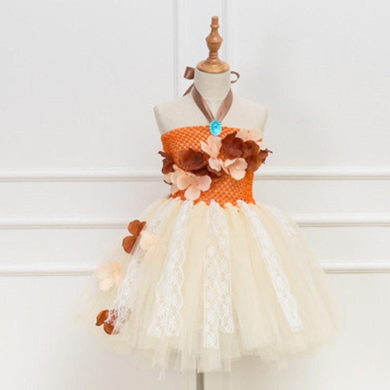Summer European and American style creative sleeveless Cotton Blends girls princess dress Cosplay Fairy Tales for kids