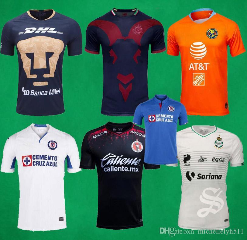 2019 2019 LX Mexico Club America Club Soccer Jersey 19 20 Chivas Guadalajara  UNAM Laguna Tigres UANL Monterey Tijuana Football Shirts Sports Tops From  ... 88a7afb1b
