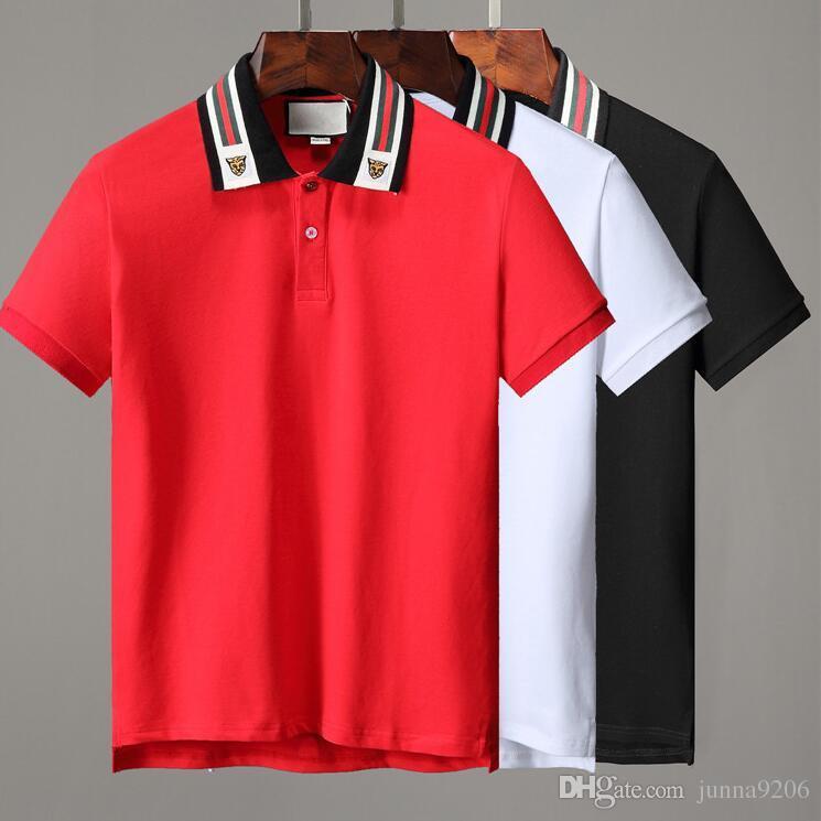 ba243ebff Homme Shirt 19ss Fashion Print Short Sleeve Slim Fit Medusa T-Shirts ...
