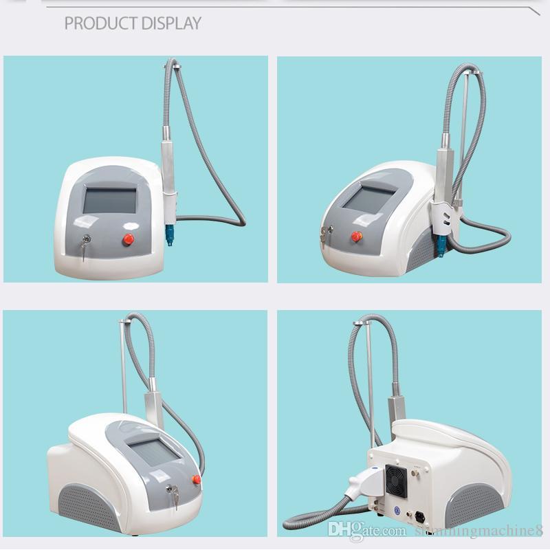 Pico 755 nm Laser Wellenlänge für Pigmentierung Nevus Tattoo Sommersprossen Entfernung Mikrolinsenarray behandeln professionelle Laser Entfernungsmaschine
