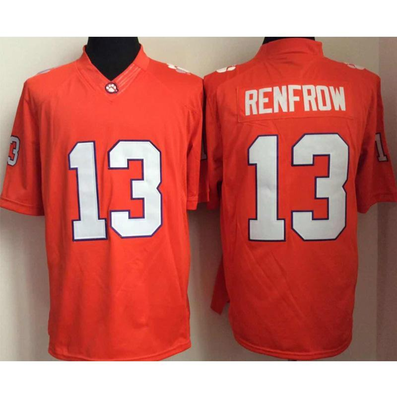 finest selection 89526 895c5 Mens Clemson Tigers Hunter Renfrow Stitched Name&Number American College  Football Jersey Size S-3XL