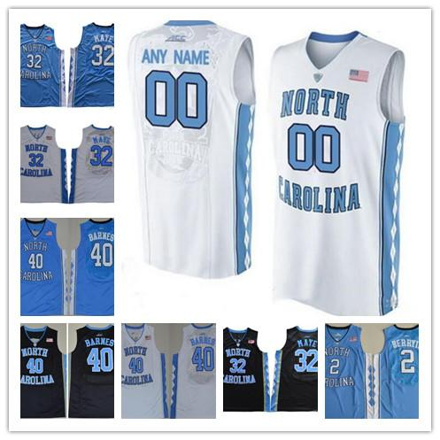 meet c1040 3a579 NCAA mens 32 Luke Maye North Carolina Tar Heels 40 Harrison Barnes 2 Joel  Berry II UNC stitched Jerseys free shipping