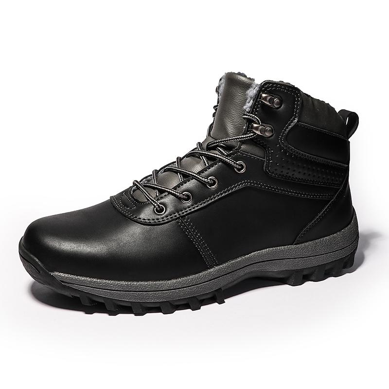 940315a7639dd Men Boots High Top Lace Up Warm Winter Boots For Mens New Fashion Casual  Men S Ankle Shoes HH 929 Combat Boots Rain Boots From Tradingmk