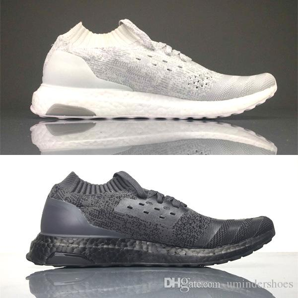 2c0c03baaffc0 2019 Finished ULTRA BOOSTS UNCAGED.Ultraboost Shoes Styles For Mens Womens.Uncaged  Triple Black   White Grey Highlighted Sports From Umindershoes