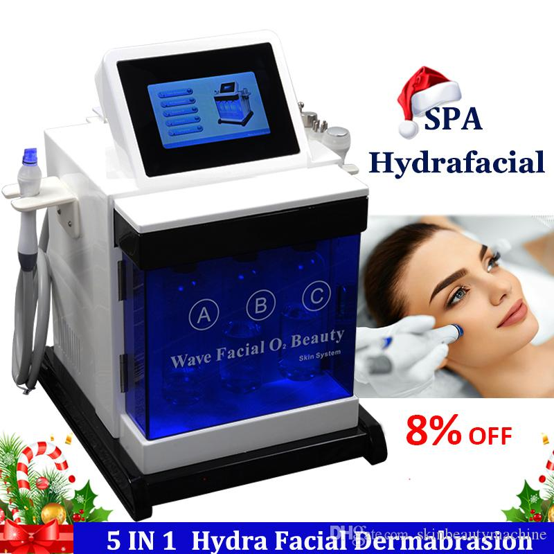 Water Oxygen Hydra Facial Machine Hydro Microdermabrasion Skin Care Rejuvenation Spa Hydrafacial Wrinkle Removal Treatment Hydra Machine