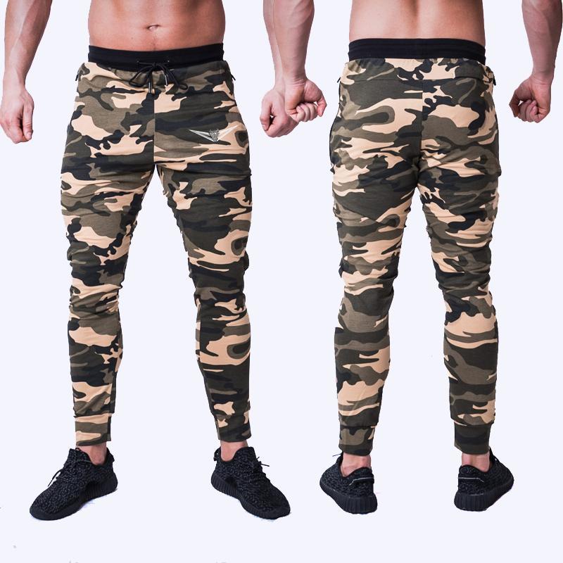 Running Pants Vertvie Men Gym Running Pants Fitness Jogger High Elastic Sports Trouser Casual Workout Striped Sportwear Male Sweatpants 2019