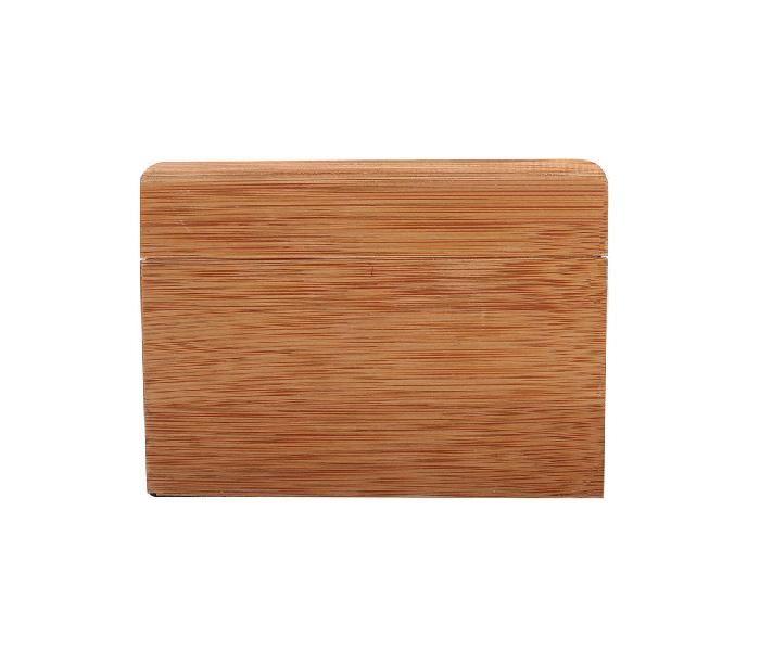 Nueva caja de reloj de bambú natural del reloj del tirón caja de relojes de bambú de empaquetado del regalo de alto grado