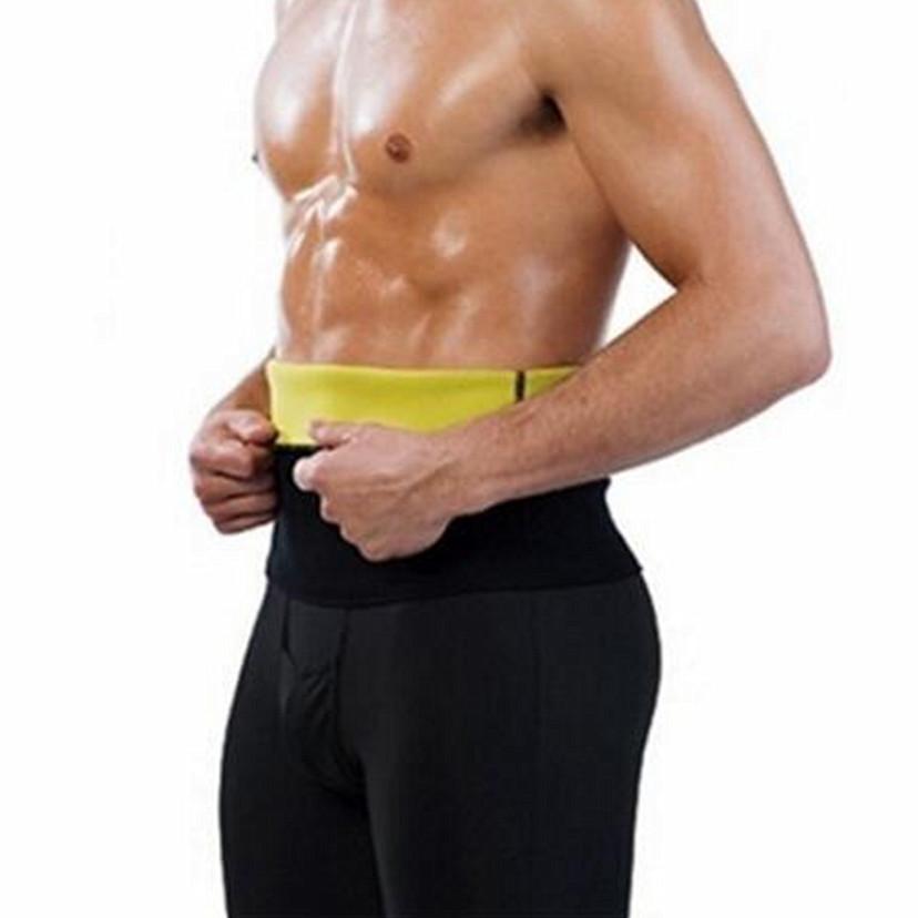 8815052539fb5 2019 Mens Neoprene Shapers Waist Trainer Waist Cincher Corset Men Body  Shaper Tummy Slimmin Fitness Sweat Girdle Slim Underwear From Wqasysos