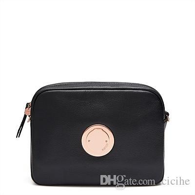 MIMCO Modify Hip Bag---Black Rose Gold