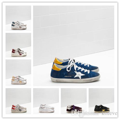 5b99fd5099 2019 New Golden Goose Ggdb Old Style Loafers Sneakers Genuine ...