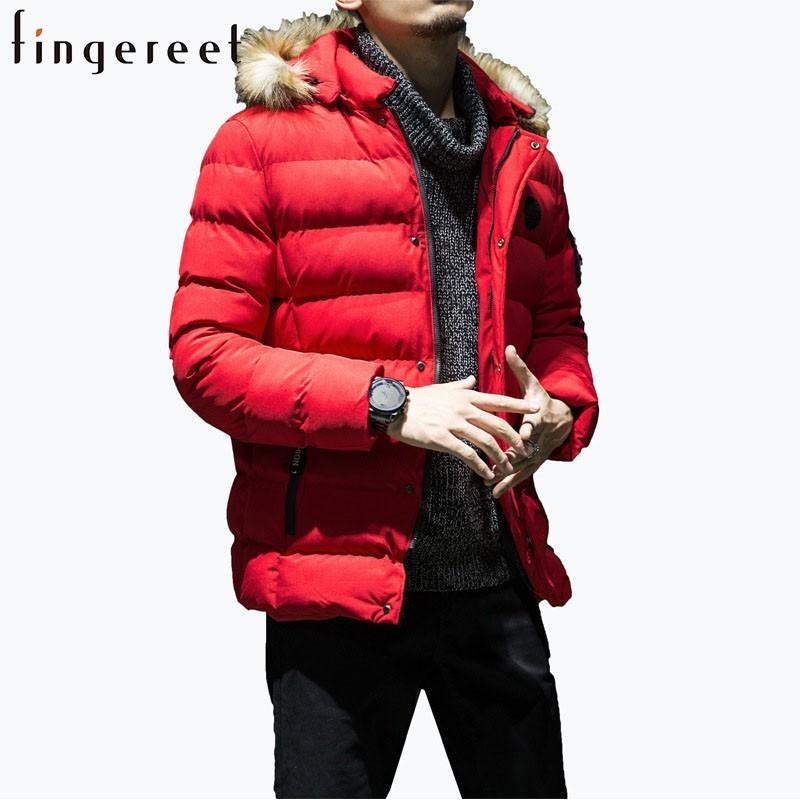 7f9dfe5d8e0b6 2019 Man Leisure Time Coat Winter Pattern Men'S Wear Thickening Jacket Even  Hat Solid Time Cotton Padded Popular Cotton Tide Brand From Yanmai, ...