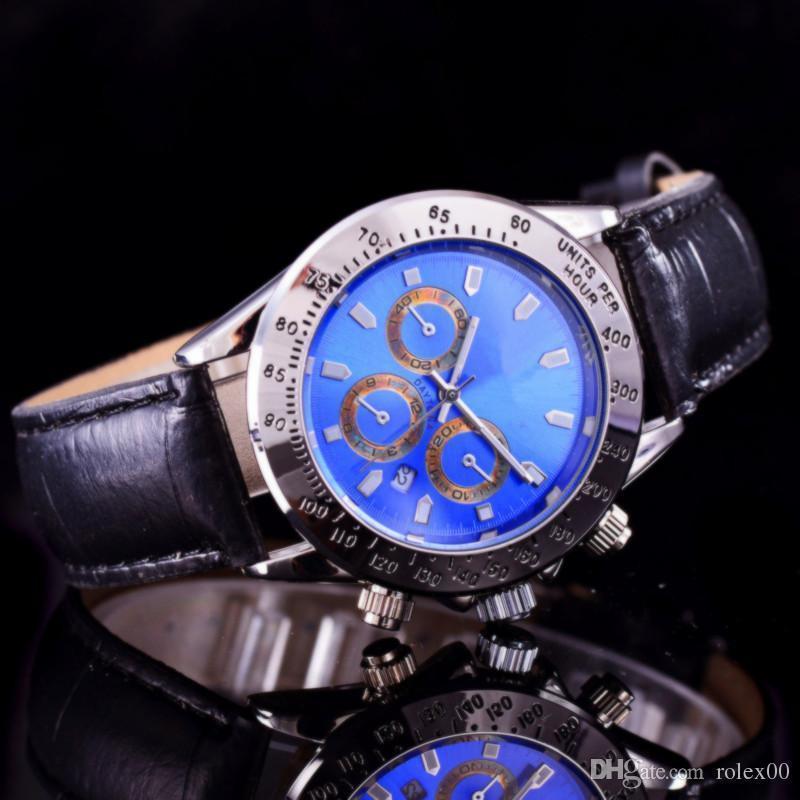 best watches for men 2020 2020 Top Fashion Brand Man Watch Genuine Leather Wristwatch Women