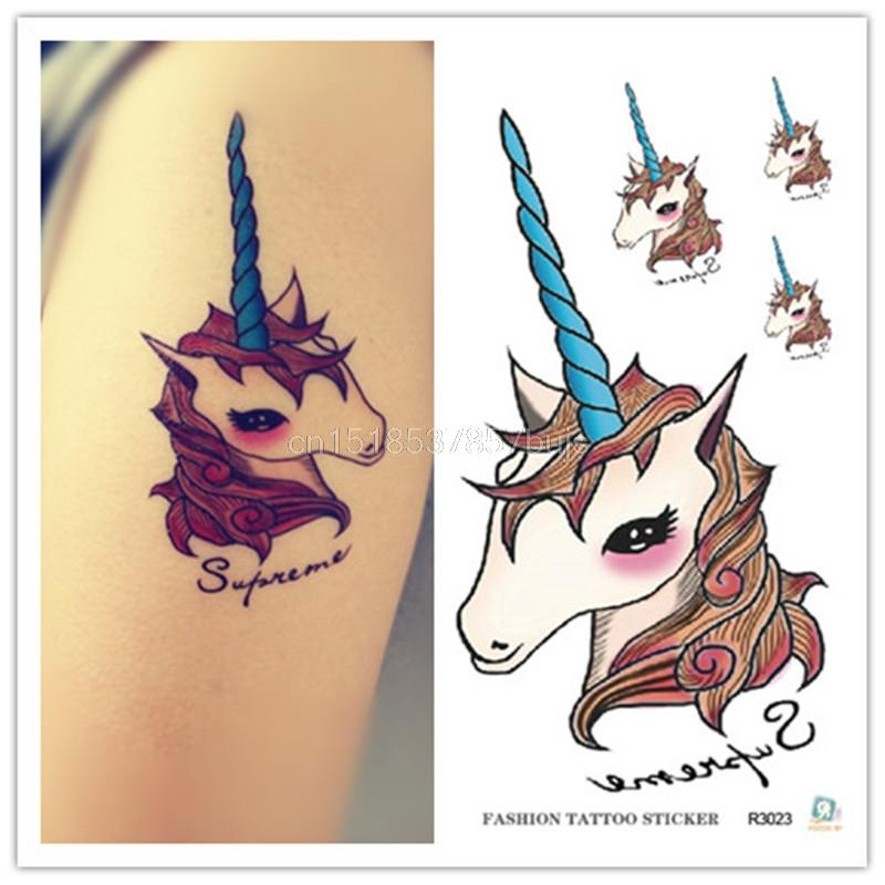 Daily Hot Sale Waterproof Temporary Tattoos For Lady Children Lovely ...