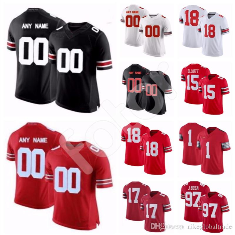 2019 Custom Men S NCAA Ohio State Buckeyes College Football Stitched Jersey  Any Name Number Haskins Jr 493949ee6