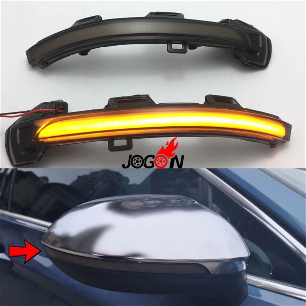 For Volkswagen VW Passat B8 2015-2017 For Arteon 2018 LED Side Wing  Rearview Mirror Indicator Sequential Blinker Light Dynamic Turn Signal