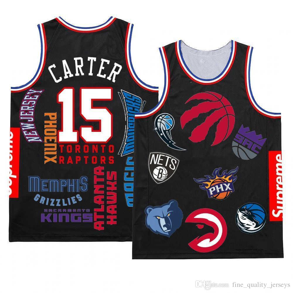 fb6ddcd9d 2019 Toronto Jersey Raptors Vince 15 Carter# Kawhi 2 Leonard #Kyle 7 Lowry  Tracy 1 McGrady Basketball Jerseys Mesh Retro In Stock From  Fine_quality_jerseys, ...