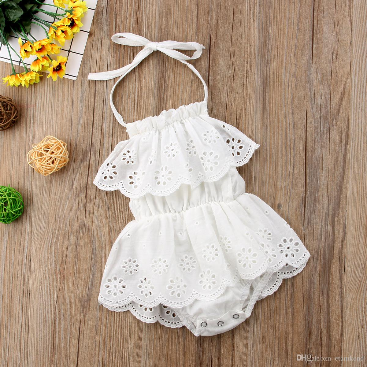 3820beba6f159 2019 new fashion Pudcoco Cute Newborn Kids Baby Girl Infant Lace Romper  Dress Jumpsuit Playsuit Clothes Outfits