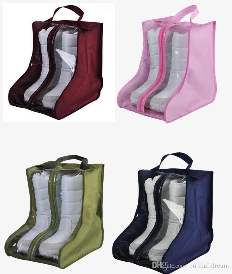 cb030692 Compre Bolsa De Zapatos Impermeable Hecha De Tela De Oxford, Puede Guardar  Buskined, Botas Para La Nieve, Zapatos De Cuero, Calzado Deportivo W7453  20180920 ...