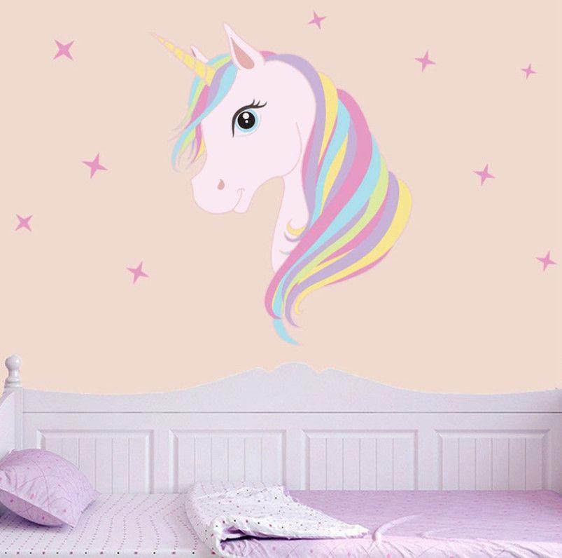 Großhandel Tiere Cartoon Home Schlafzimmer Aufkleber Wandaufkleber