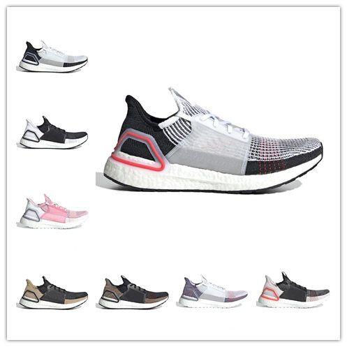 aa6b6508cf495 Cloud White Black 2019 5.0 mens Running shoes Dark Pixel Refract Clear  Brown Primeknit sports trainers men women sneakers