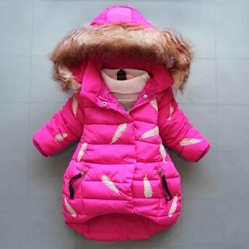 d226d1eac4a8 Good Quality 2019 Winter Newborn Baby Girls Down Cotton Jacket ...